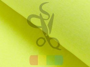 Buendchen glatt neon gelb