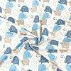 bawelna sloniki niebiesko granatowe na bialym tle (1)