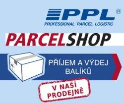 V prodejně můžete podat i vyzvednout zásilku dopravce PPL