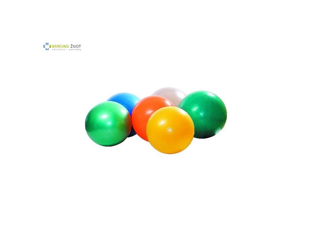 Rehabilitační gymnastický míč s hustilkou 75cm