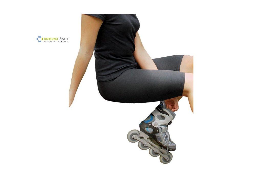 3ad274db036 Kompresivní legíny nad kolena Lymfo-active - BAREVNÝ ŽIVOT
