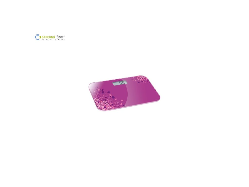 Osobní váha Lanaform Electronic Scale Pink