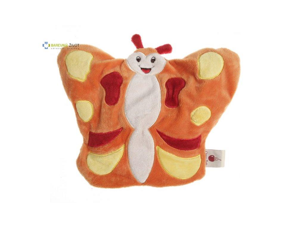 Hřejivá plyšová hračka do mikrovlnky - Motýlek
