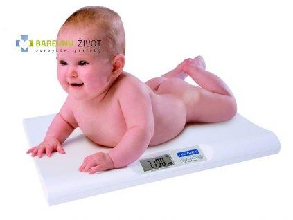 Kojenecká váha Lanaform Baby Scale