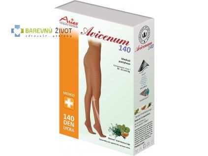 Avicenum 140 – kompresivní punčochové kalhoty Sanitized Silver
