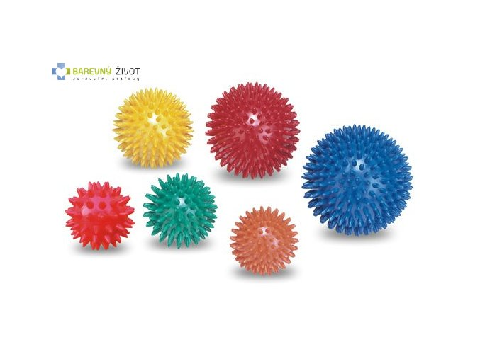 Masážní míček ježek