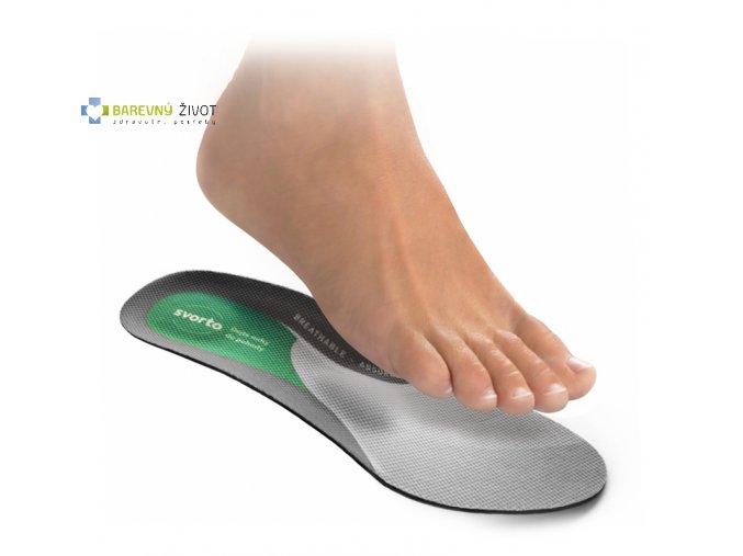 Vložky do bot zdravotní antibakteriální - skelet