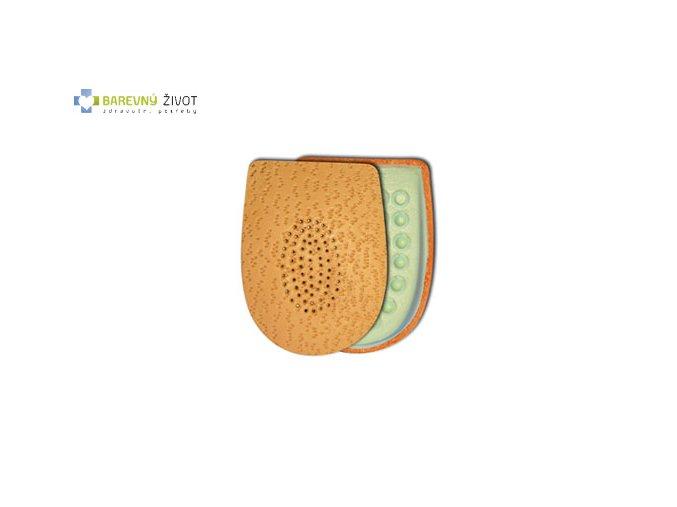 Kožené podpatěnky pro patní ostruhy Latex