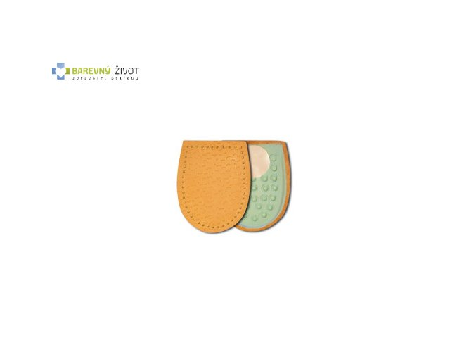 Kožené podpatěnky Latex