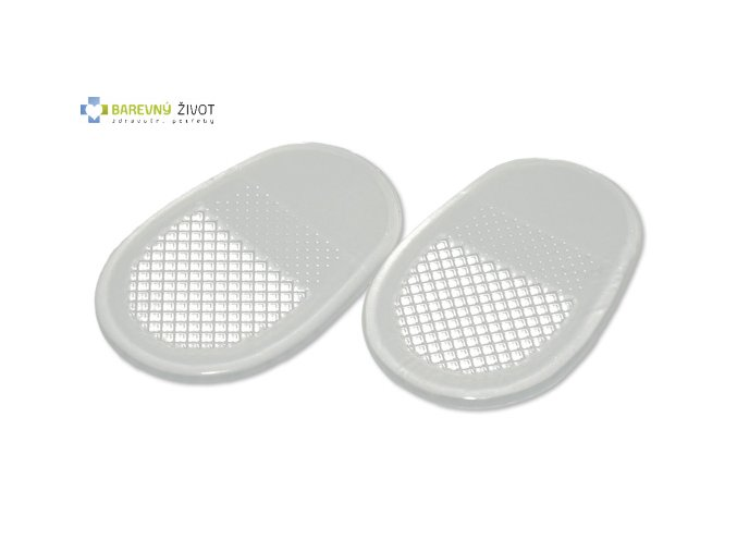 Polštářky do bot gelové samolepící