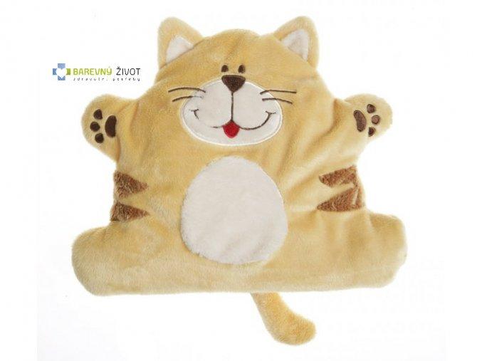 Hřejivá plyšová hračka do mikrovlnky - Kočička