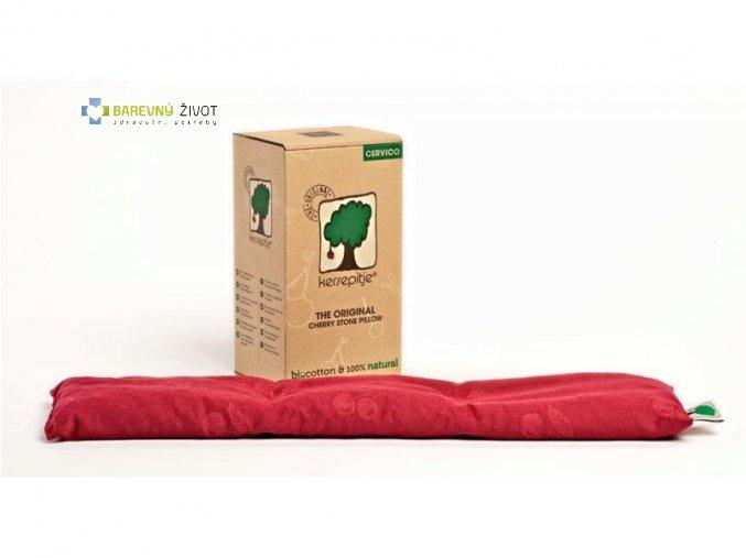 Hřejivý a chladící  polštář (třeš.pecky) Cervico 13x55cm