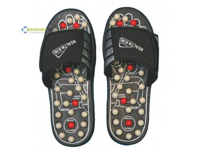 Akupresurní pantofle s kameny