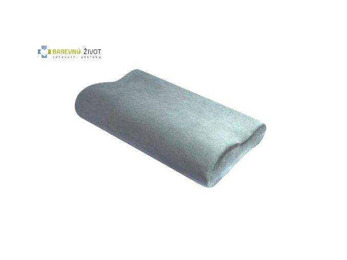 Anatomický polštář s dřevěným uhlím