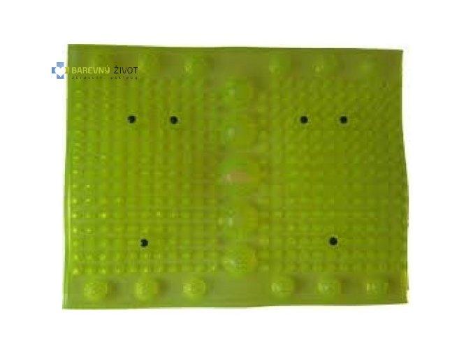 Akupresurní masážní podložka s magnety