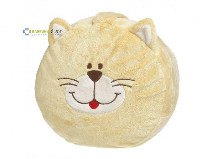 Plyšové sedátko pro děti - Kočka