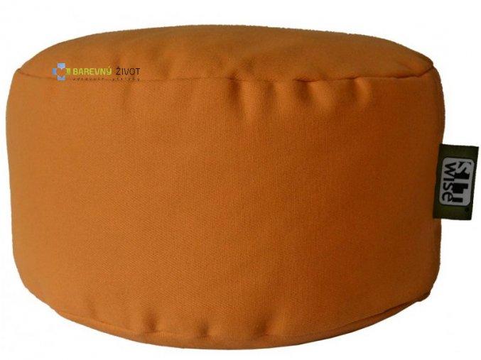 Přírodní sedátko PIPO - Žlutá barva