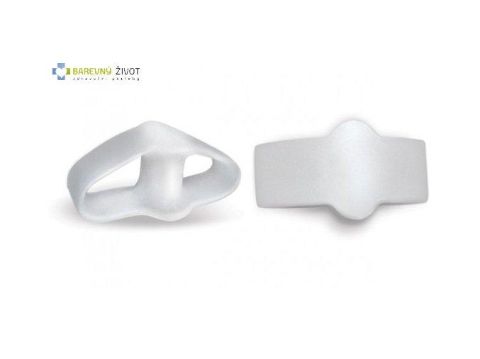 Gelový korektor palce s dvojitým kroužkem