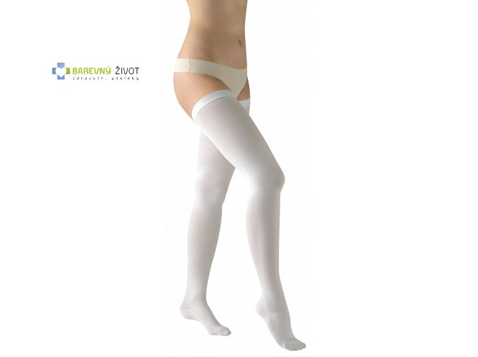 AVICENUM ANTI-TROMBO kompresní stehenní punčochy pro ležící pacienty
