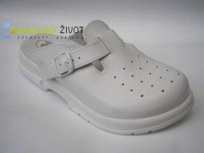 Pantofle zdravotní  s plnou špičkou- SANTE
