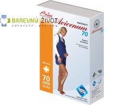 Avicenum 70 - kompresní těhotenské punčochové kalhoty