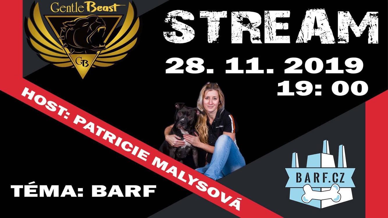 Základy BARFu - stream vysílání