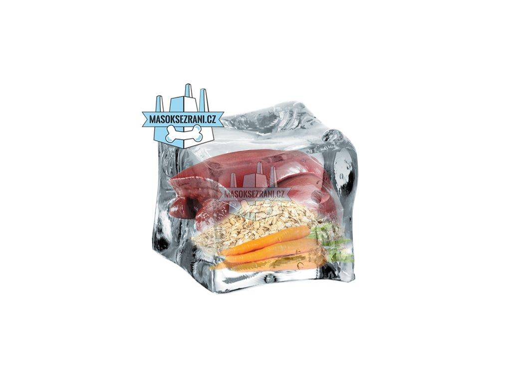 BARF Hovězí mrkvový obláček s vlockami