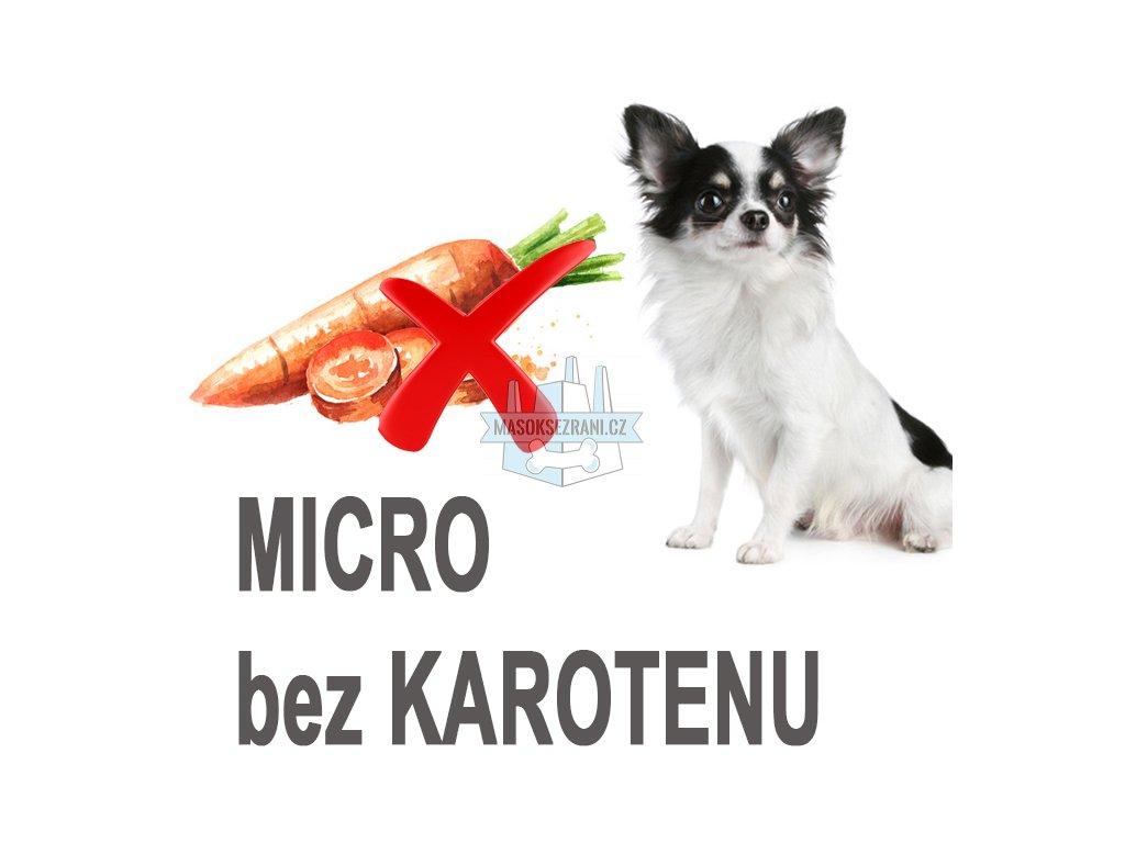 micro ikona bez karotenu