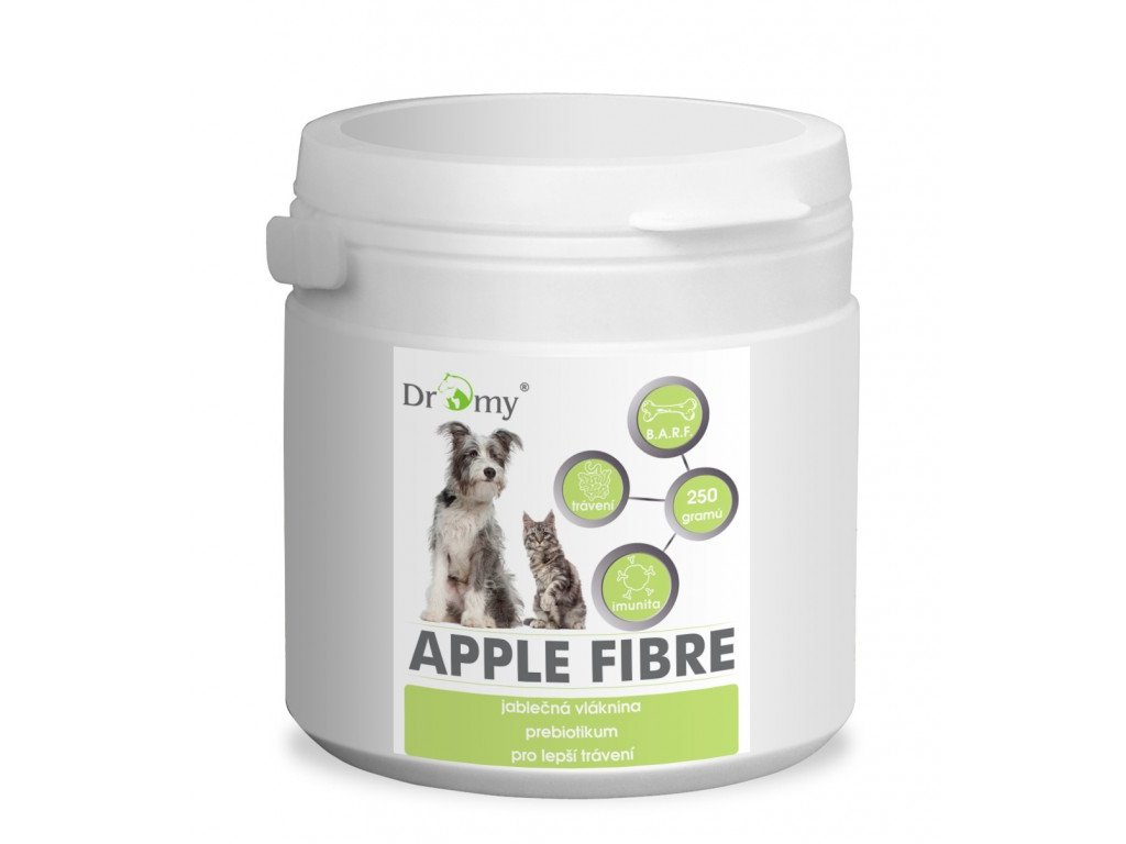 459 dromy apple fibre barf 250 g