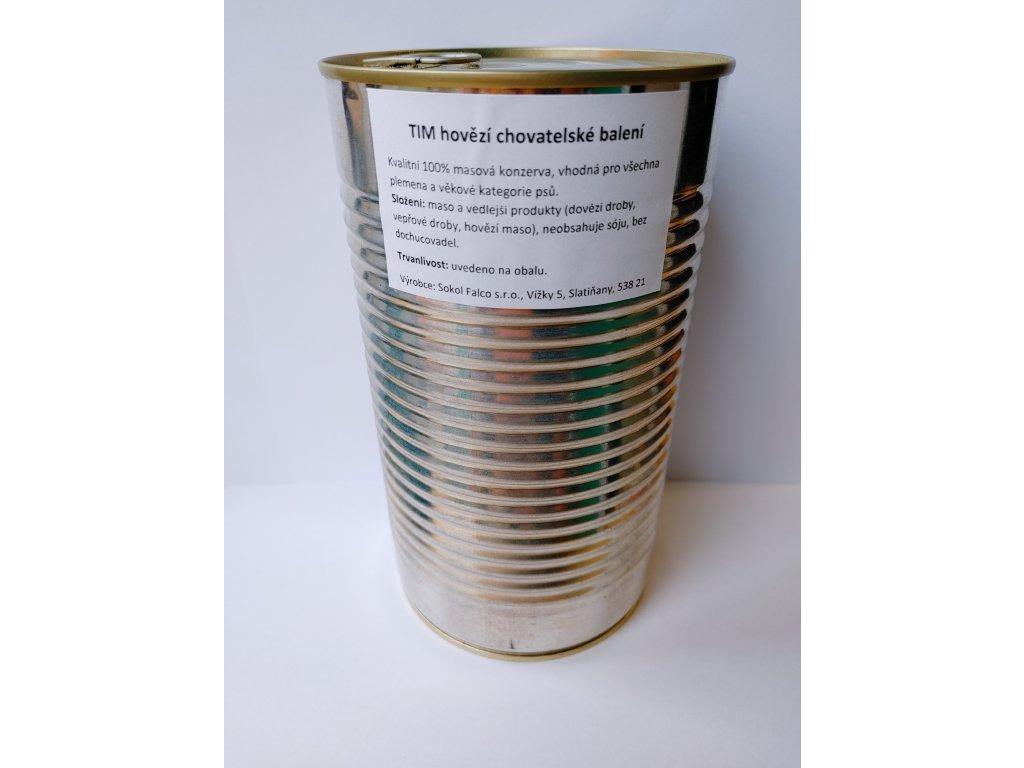 TIM hovězí chovatelské balení 1,2 kg