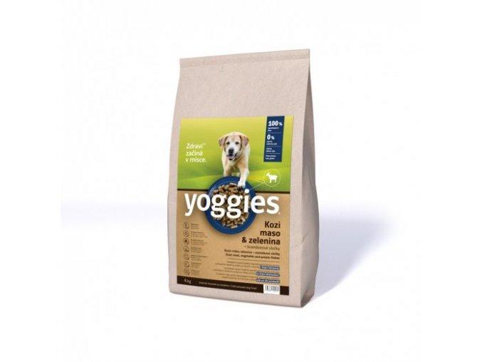 4kg yoggies hypoalergenni granule s kozim masem lisovane za studena