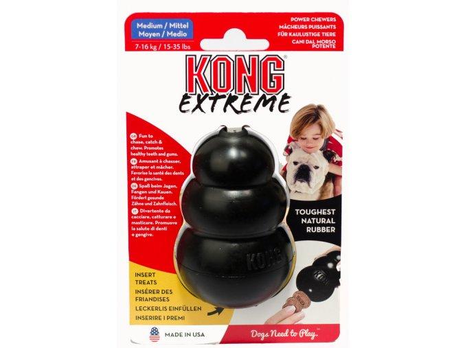 Kong extreme medium černý