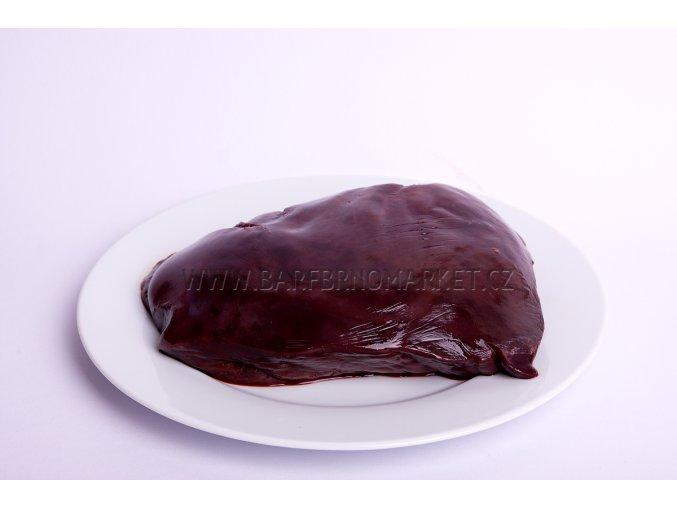 Hovězí játra v kuse 1 kg