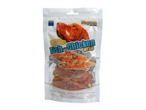 magnum fish with chicken wrap 80g 300