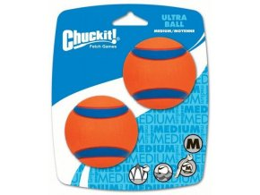 Míčky Ultra ball medium 6,5 cm = 2 na kartě