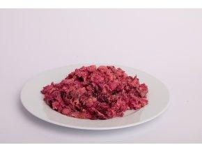 Hovězí mletá svalovina s červenou řepou 1 kg