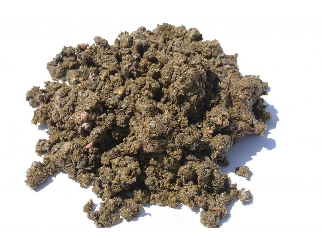 Dršťky zelené mleté 1kg (Do psi misky)