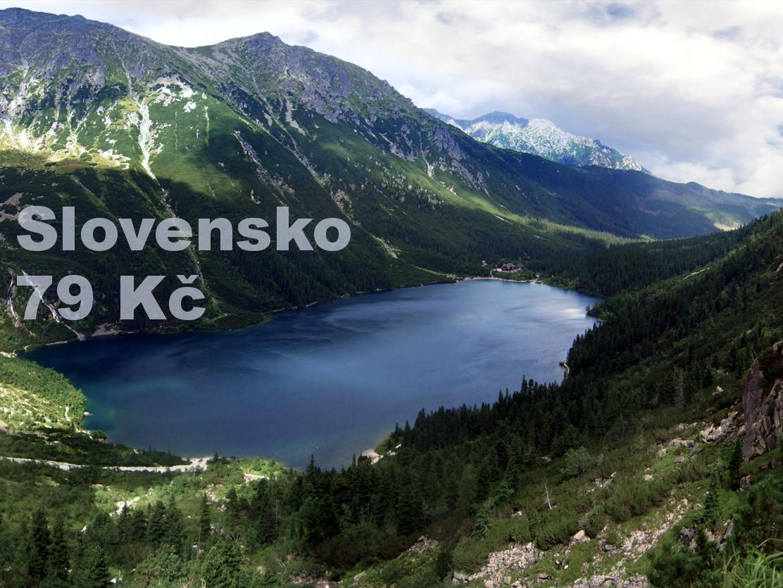 Doprava Slovensko od 79 Kč