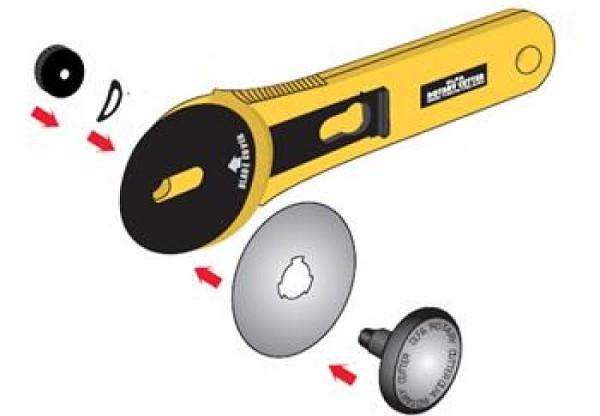 Jak vyměnit řezací kolečko