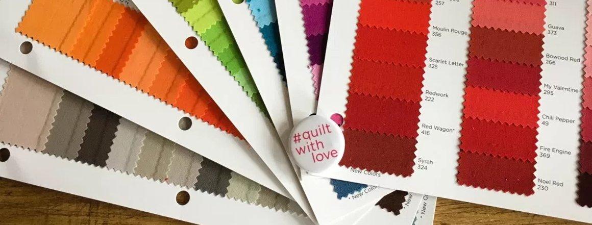 RJR Fabrics - quilt with love