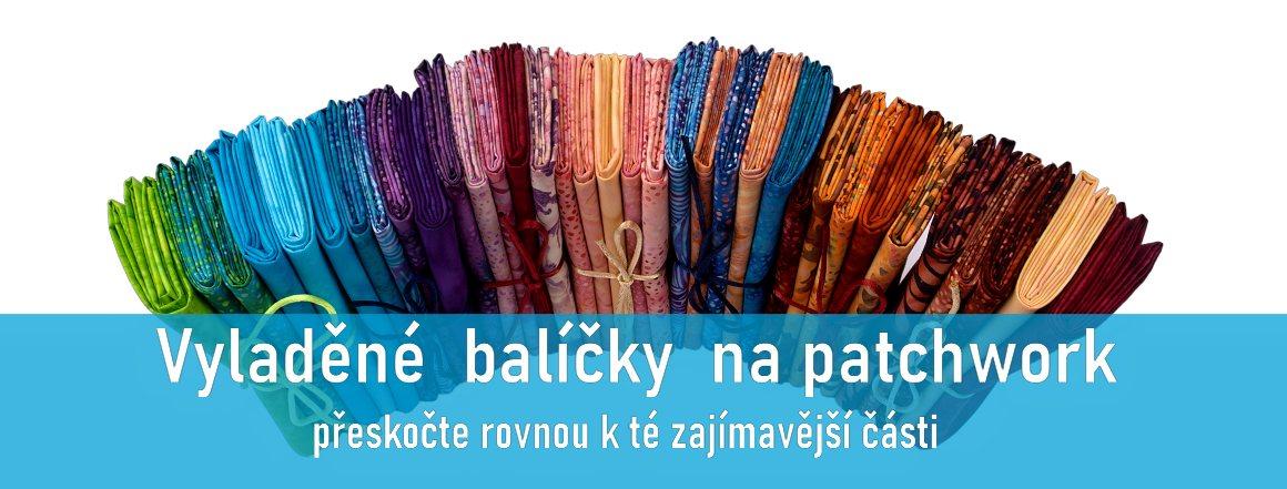 Balíčky látek na patchwork a quilt