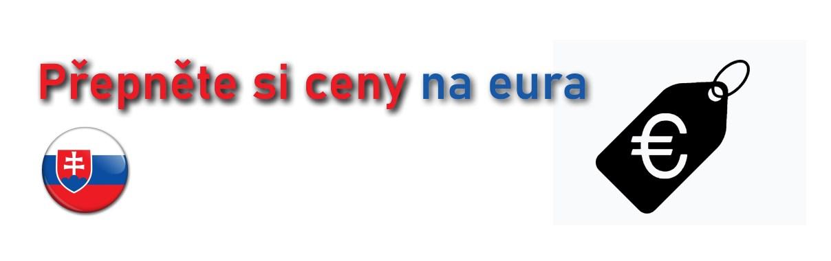 Zobrazování cen v EUR
