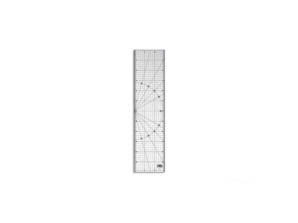 Pravítko Olfa 15 x 60 cm (non slip)