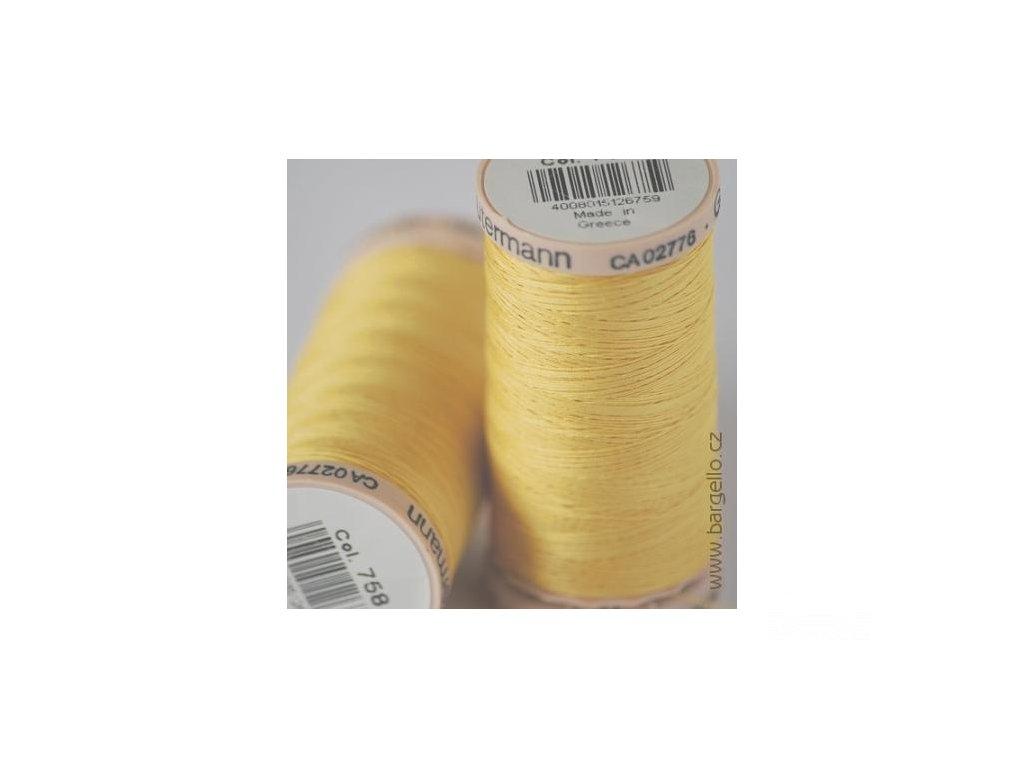 Nit Cotton  Yellow