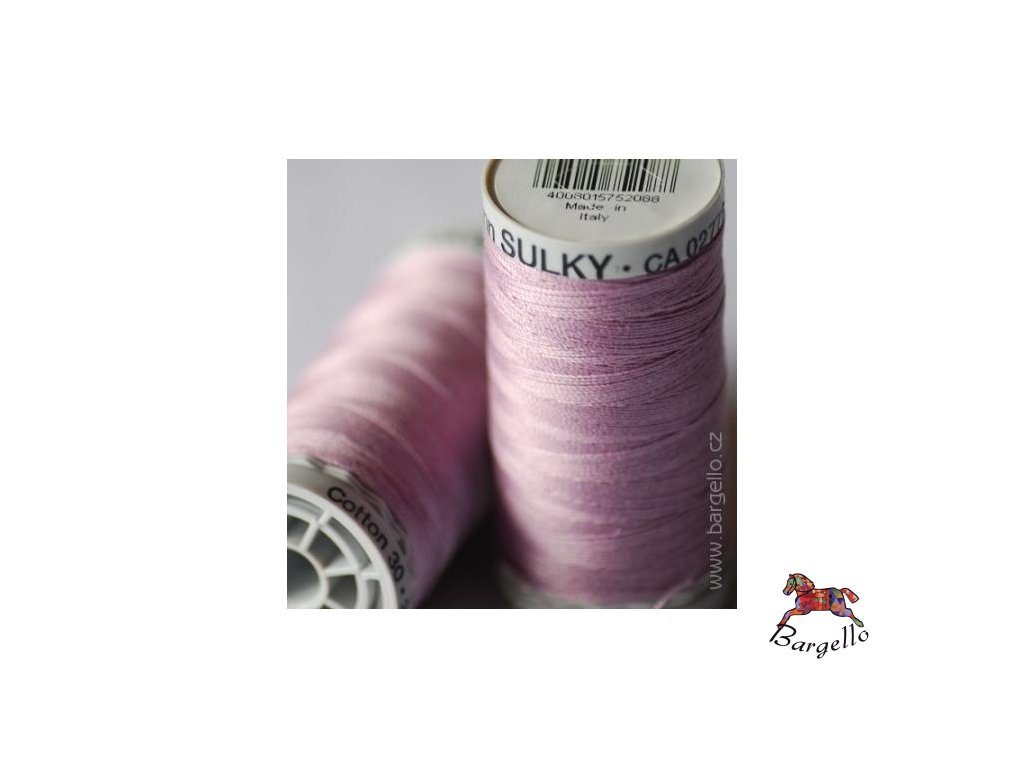 Nit  Sulky Cotton Med. Purple