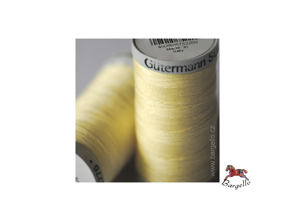 Nit  Sulky Cotton Pale Yellow
