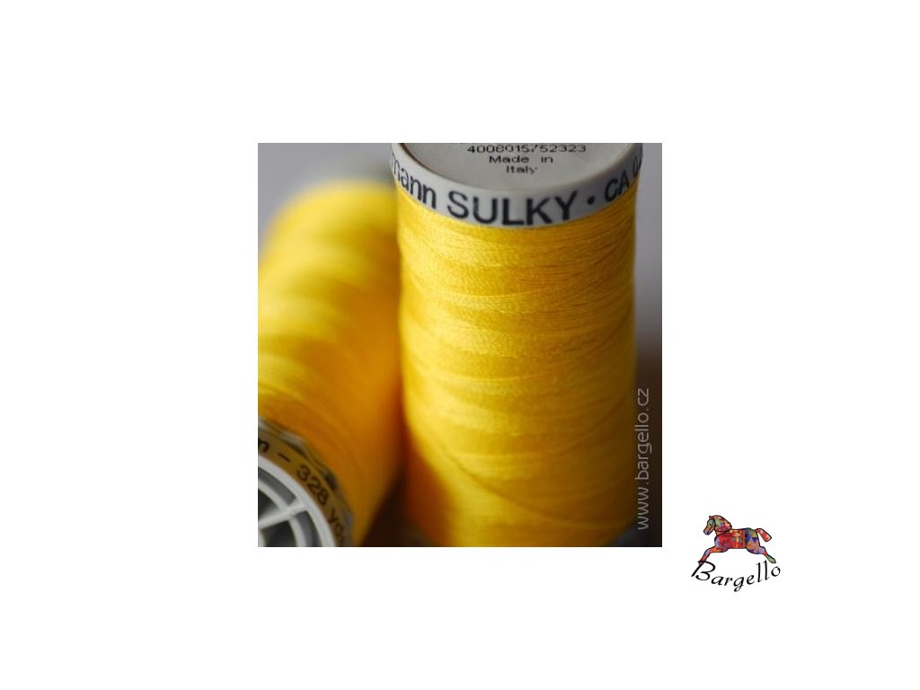 Nit  Sulky Cotton Sun Yellow