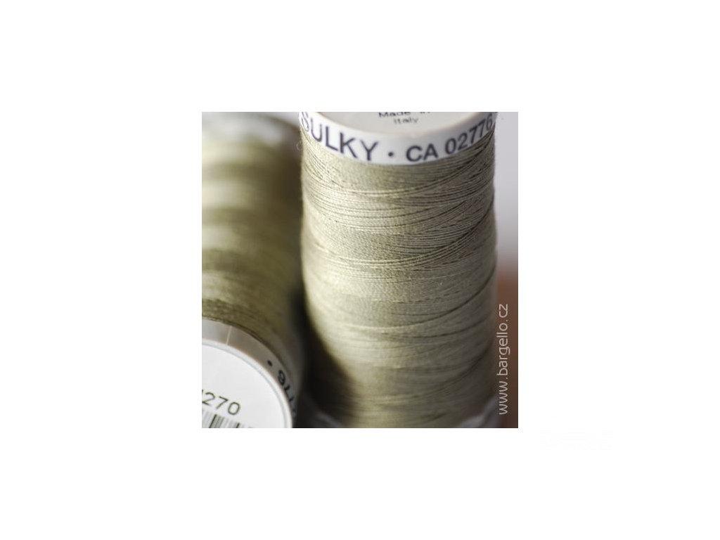 Nit  Sulky Cotton Dk. Gray Khaki