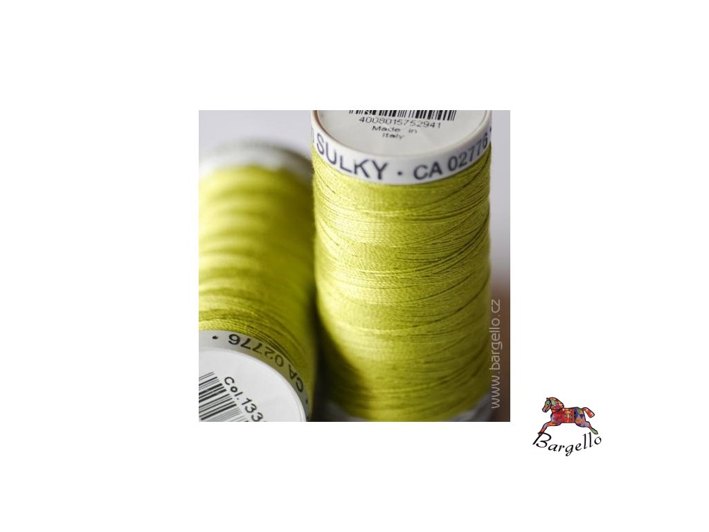 Nit  Sulky Cotton Deep Chartreuse