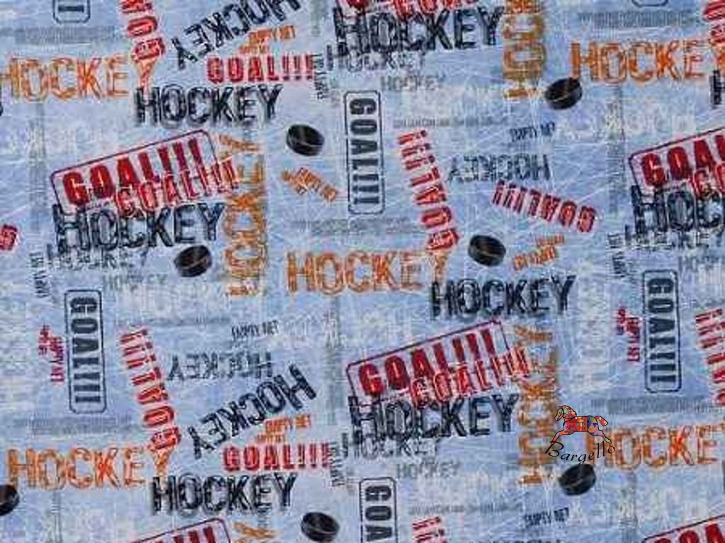 Hockey Ice Blue